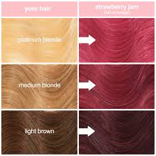 Strawberry Jam Dusty Pink Vegan Semi Permanent Hair Dye