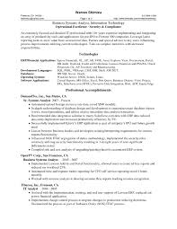 Sample Resume For Business Analyst In Banking Domain Resume For