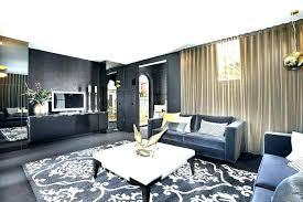 gray and tan rug blue