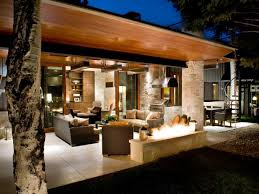 ci rowlandbroughton terrace at night ranch home h4x3