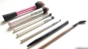 beauty my most used makeup brushes