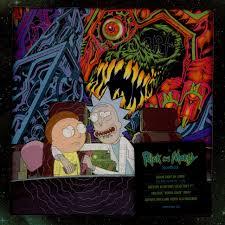Rick And Morty Light Up Poster V A Ost Rick Morty Box Set