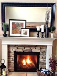 above brick fireplace decor whitewash a hero red brick fireplace mantel