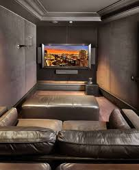 Home Theater Design Decor Noted Small Home Theater Design And Decor Room Ideas Modern Www 33