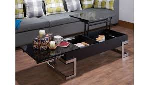 coffee table with lift top black