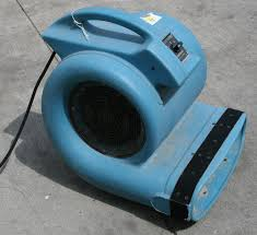 carpet drying fan. air mover for floor and carpet drying. drying fan