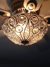 tired of the boring ceiling fan light kits a sparkly flush in flush mount