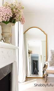 decorating with mirrors instead of art