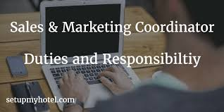 Marketing Coordinator Job Description Awesome Hotel Sales Coordinator Marketing Coordinator Duties And