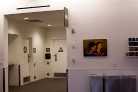 public bathroom doors. A Bullet Struck The Door Public Bathroom Doors