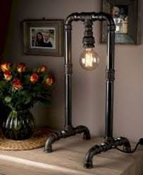 20 Inexpensive Industrial Pipe Lamps Diy Ideas Wood Pallet