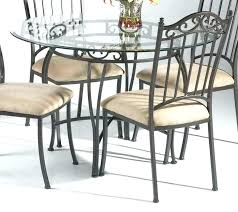 charming round glass dining table sets for 4 round glass kitchen table sets top dining set