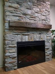 Indoor Fake Fireplace Faux Chimney Surround Our Faux Chimney By Stepping Stone And Tile
