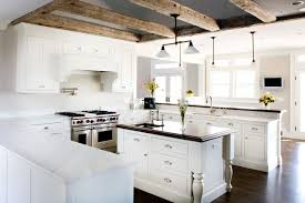Amazing rustic white kitchen ideas with modern stove