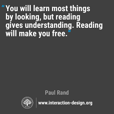 Free Human Design Reading The Daily Design Quote Interaction Design Foundation