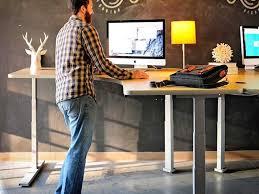 Desk The Most Standing Desks Los Angeles Office Furniture Crest