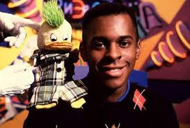 The good old days: Andi Peters with Edd The Duck, the cheeky mallard puppet sporting his trademark Mohican, on children's TV - AndiPeters_468x315