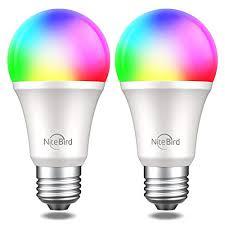 Smart WiFi <b>Light Bulb</b> Works with Alexa Google Home Siri, <b>NiteBird</b> ...