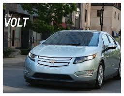 GM 2013 Chevrolet Volt Sales Brochure