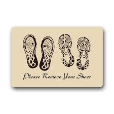 Doormat please remove shoes doormat images : Memory Home Customize Please Remove Your Shoes Indoor Outdoor ...
