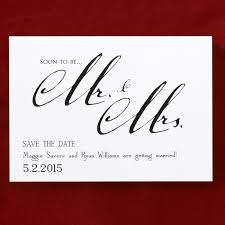 What Are Save The Date Cards Mr Mrs Save The Date Card Or Magnets