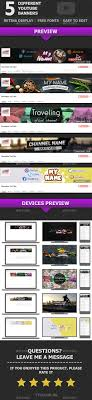 Youtube Banner Graphics Designs Templates From Graphicriver Page 3