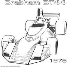 1975 Brabham Bt44 Kleurplaat Gratis Kleurplaten Printen
