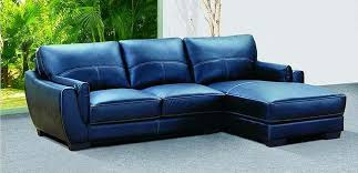 navy blue leather sofa. Navy Blue Style Leather Couch Sofa Picture