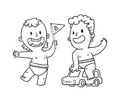 Disegno Di Bambini Che Giocano Da Colorare Acolorecom