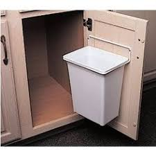 I dislike garbage cans under the sink or the pull-out cabinet kind. This