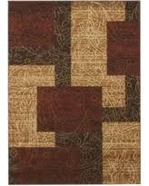 ashley furniture area rugs. Ashley Rosemont Red Brown And Gold Medium Rug With Furniture Area Rugs