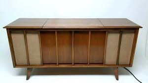 home stereo furniture cabinets console cabinet mid century performance modern record player nets net table vintage stereo cabinet