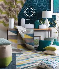 surya releases spring  catalog  surya  rugs pillows wall