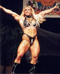 """Fanrule on Twitter: """"Happy Birthday to the ALLURINGLY AWESOME Asya AKA  Christi Wolf 😃 ...aww, WCW Nitro memories 😇 #christi #wolf #christiwolf  #asya #wcw #wrestling #bodybuilding #fitness #fit #body #muscle #strong  #booty #"""
