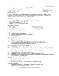 Resume Objective Entry Level Beautiful Resume Fish And Wildlife