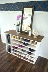slim shoe cabinet holder for closet enclosed rack outdoor wooden in wooden shoe rack