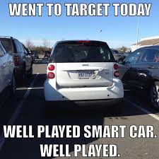 Smart car funny meme haha | LOL | Pinterest | Smart Car, Funny ... via Relatably.com