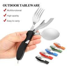 Best value <b>multifunctional stainless steel</b> spoon and fork – Great ...