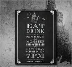 Blank Halloween Invitation Templates 35 Halloween Invitation Free Psd Vector Eps Ai Format