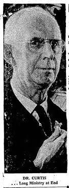 Rev Harry Wesley Curtis (1891-1961) - Find A Grave Memorial