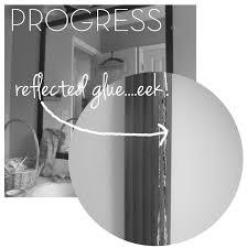 Adhesive Bathroom Mirror The House On Hillbrook Bathroom Epic Fail On Framing A Mirror