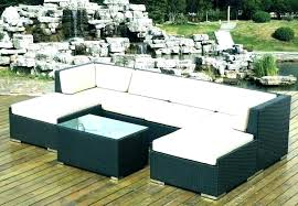 outdoor wicker furniture clearance patio sofa couch sectional