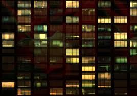building facade lighting. Light Night Window Glass Atmosphere Evening Line Reflection Color Office Facade Lighting Behind Building Lights