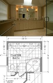 newton bathroom floor plan and after