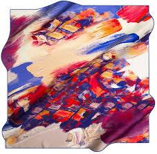 Designer Silk Scarves Aker Designer Silk Scarf Verdi No 21