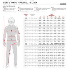 Sedici Race Suit Size Chart 45 True Racing Shoe Size Chart