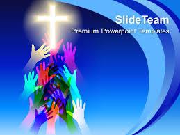 Christian Templates Jesus Christ Bible Powerpoint Templates Salvation Religion