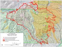 updated fire grows to 50,000 acres, evacuations ordered Las Conchas Section Map los alamos county officials are reporting the las conchas fire is threatening los alamos, and have ordered mandatory evacuation Las Conchas Rocky Point