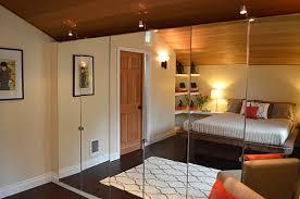 image mirrored closet door. designs ideasentryway decor with black wood door and modern mirrored closet doors elegant bedroom image