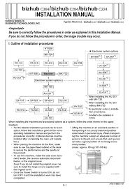 Pagescope authentication manager user manual version 2.3. Konica Minolta Bizhub C364 Installation Manual Pdf Download Manualslib